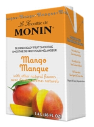 Monin Pour-Over Fruit Smoothies: 46oz Carton Case