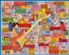 Rock Memories - 1000pc Hard Music Jigsaw Puzzle By White Mountain