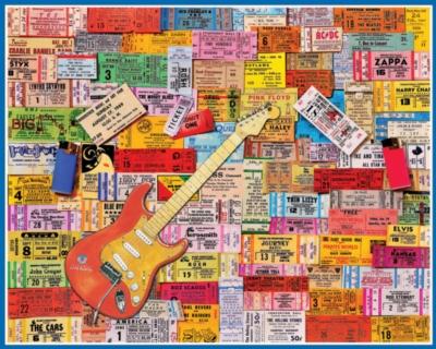 Music Puzzles - Rock Memories
