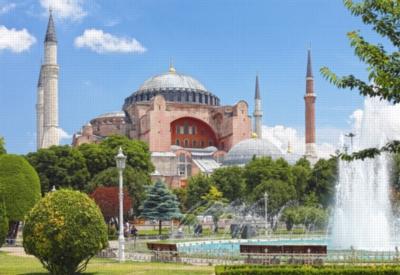 Jigsaw Puzzles - Hagia Sophia, Istanbul, Turkey