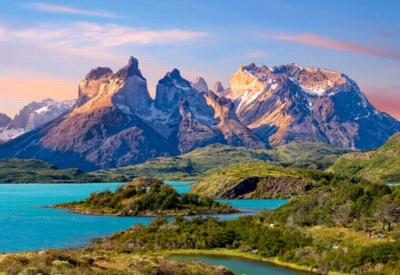 Jigsaw Puzzles - Torres del Paine, Patagonia, Chile