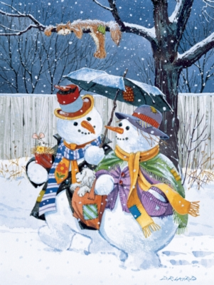 Large Format Jigsaw Puzzles - Winter Stroll