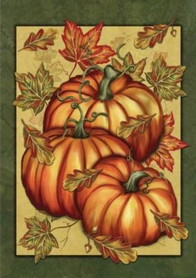 Pumpkin Spice - Garden Flag by Toland