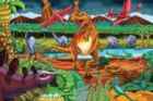 Dinosaur Volcano - 36pc Jigsaw Puzzle By Cobble Hill