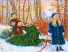 Yuletide Ride - 1000pc Jigsaw Puzzle by Springbok