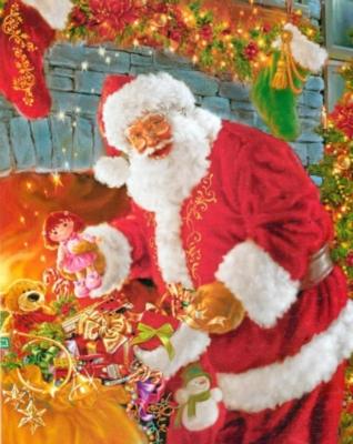 Springbok Jigsaw Puzzles - Santa's Return