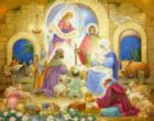 Glorious Nativity - 1000pc Jigsaw Puzzle By Vermont Christmas Company