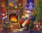 Naughty or Nice - 1000pc Jigsaw Puzzle By Vermont Christmas Company
