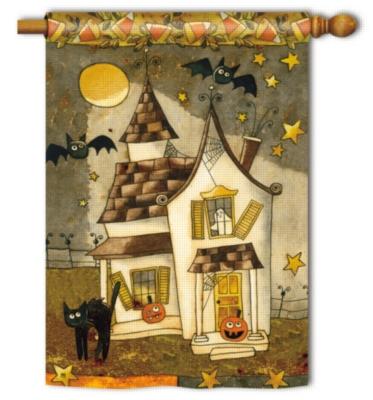 Spooky Halloween - Standard Flag by Magnet Works