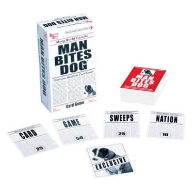 Card Games - Man Bites Dog
