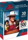 John Wayne (Lenticular) - 500pc Jigsaw Puzzle by Aquarius