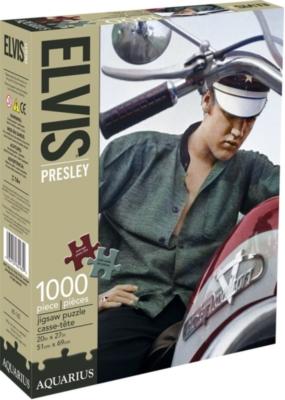 Jigsaw Puzzles - Elvis Color Bike