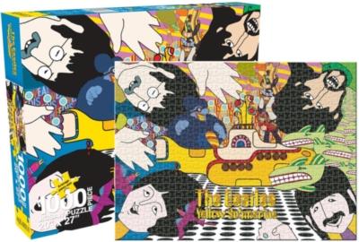 The Beatles - Yellow Submarine 2 - 1000pc Jigsaw Puzzle by Aquarius