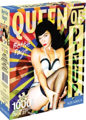 Jigsaw Puzzles - Bettie Page