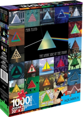 Dark Side Of The Moon - Collage - 1000pc Jigsaw Puzzle by Aquarius