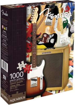 Music Puzzles - Fender- Collage