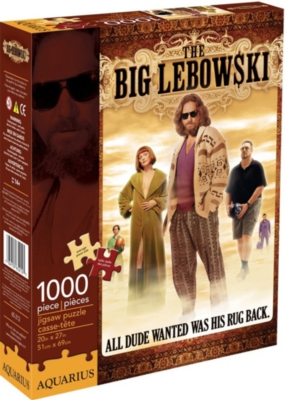 Big Lebowski - 1000pc Jigsaw Puzzle by Aquarius
