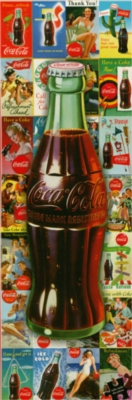 Panoramic Jigsaw Puzzles - Coke