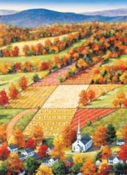 Large Format Jigsaw Puzzles - Vermont Maple