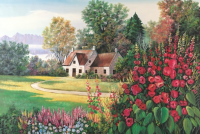 Tomax Jigsaw Puzzles - Floral Paradise