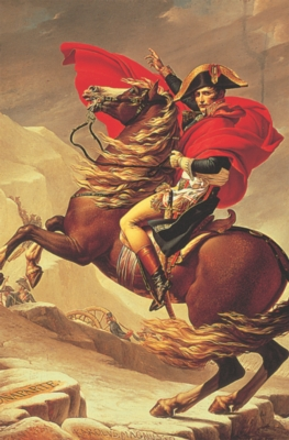 Tomax Jigsaw Puzzles - Napoleon Crossing The Alps