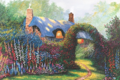 Tomax Jigsaw Puzzles - Floral Arch