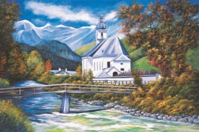 Tomax Jigsaw Puzzles - The Church Of Ramsau