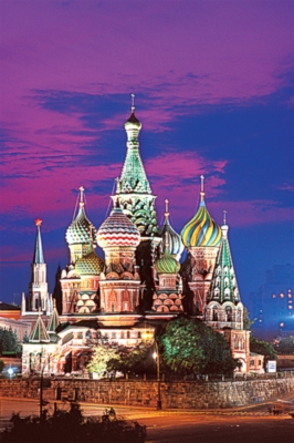 Tomax Jigsaw Puzzles - St Basil's Cathedral, Moscow
