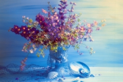 Tomax Jigsaw Puzzles - Purple Arrangement