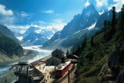 Tomax Jigsaw Puzzles - Mountain Train Station
