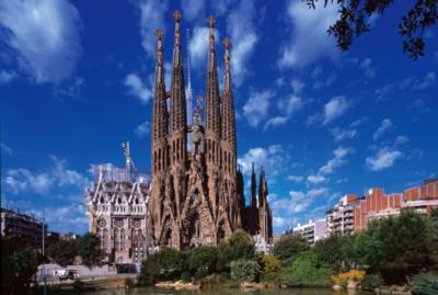 Tomax Jigsaw Puzzles - Sagrada Familia, Spain