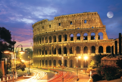 Tomax Jigsaw Puzzles - Rome Colosseum Glow in the Dark