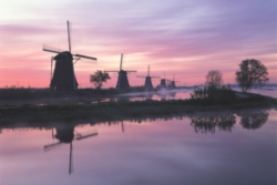 Tomax Jigsaw Puzzles - Windmill, Netherlands