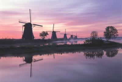 Tomax Jigsaw Puzzles - Windmill, Netherlands