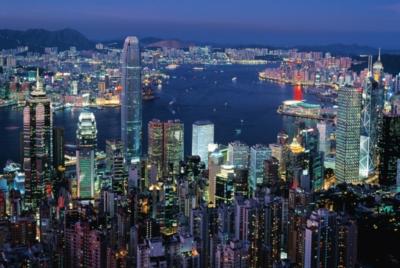 Tomax Jigsaw Puzzles - Hong Kong By Night