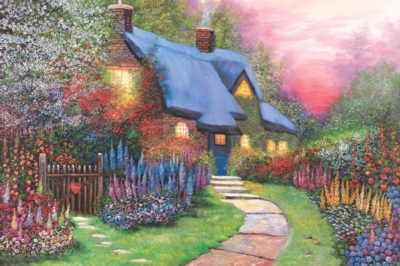 Tomax Jigsaw Puzzles - Floral Cottage