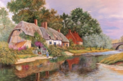 Tomax Jigsaw Puzzles - Little Girl By The Lake