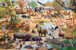 Tomax Jigsaw Puzzles - African Paradise