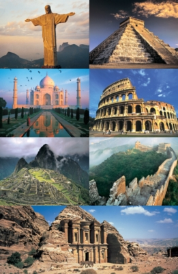 Tomax Jigsaw Puzzles - The 7 New Wonders Of The World