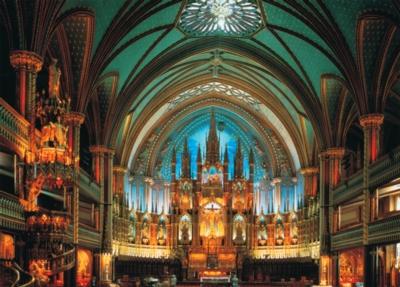 Tomax Jigsaw Puzzles - Notre-Dame De Montreal, Canada