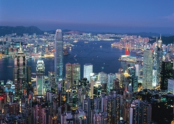 Tomax Jigsaw Puzzles - Hong Kong By Night