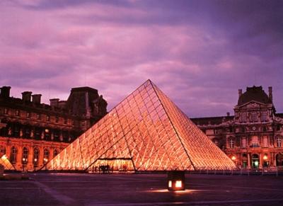 Tomax Jigsaw Puzzles - Louvre Pyramid, Paris
