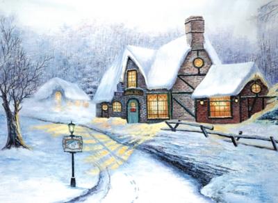 Tomax Jigsaw Puzzles - Snowy Journey