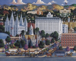 Dowdle Jigsaw Puzzles - Salt Lake City