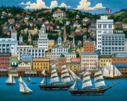 Dowdle Jigsaw Puzzles - Portland