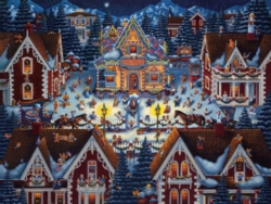 Dowdle Jigsaw Puzzles - Gingerbread House
