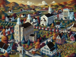 Dowdle Jigsaw Puzzles - Logan Fall
