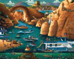 Dowdle Jigsaw Puzzles - Lake Powell