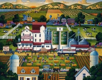 Dowdle Jigsaw Puzzles - Lehi Roller Mills