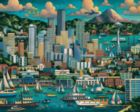 Seattle - 500pc Jigsaw Puzzle by Dowdle